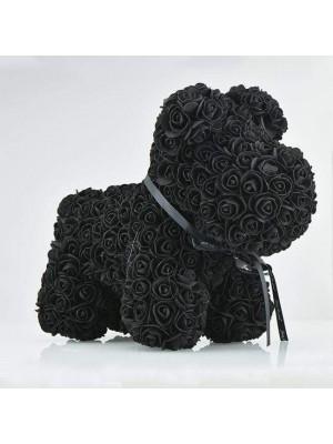 Schwarz Rose Hündchen Flower Hündchen Bestes Geschenk für Muttertag, Valentinstag, Jubiläum, Hochzeit und Geburtstag