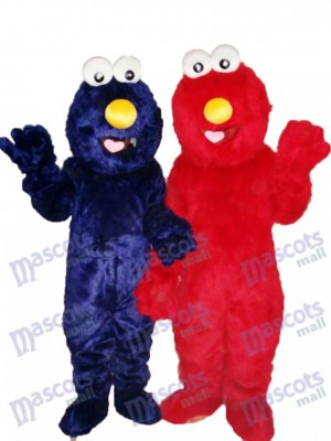 Elmo Sesam Street Super Nettes Maskottchen Kostüme Cartoon Anime