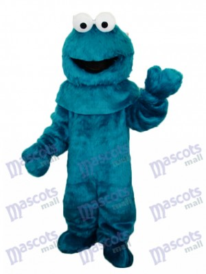 Green Cookie Monster Sesam Street Maskottchen Kostüm Cartoon Anime