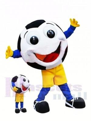 Glücklicher Fußball Maskottchen Kostüm