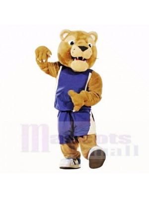 Golden Panther Maskottchen Kostüme Hochschule