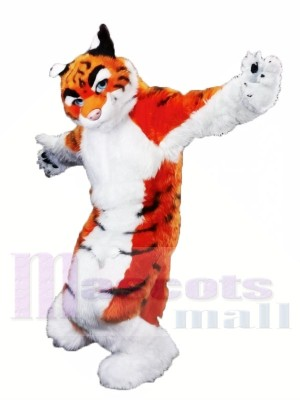 Hochwertige Furry Tiger Maskottchen Kostüme
