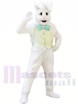 Weiß Hase Erwachsene Maskottchen Kostüme Tier