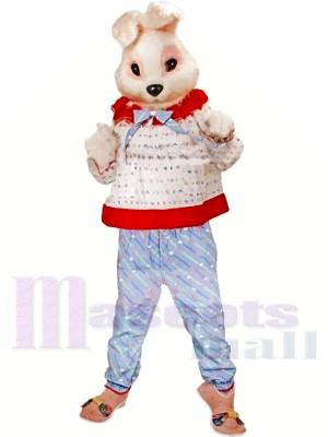 Süß Rosa Hase Maskottchen Kostüme