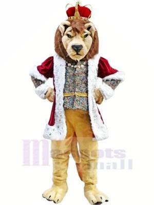 König Löwe Maskottchen Kostüme Erwachsene