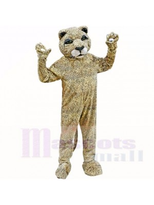 Beschmutzt Braun Leopard Maskottchen Kostüme Erwachsene