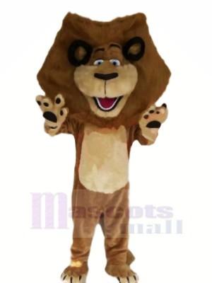 glücklich Braun Löwe Maskottchen Kostüme Billig