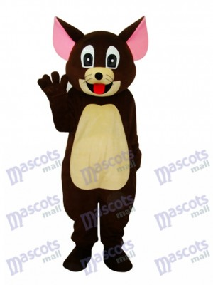 Brown Jerry Ratte Maskottchen Erwachsene Kostüm Cartoon Anime