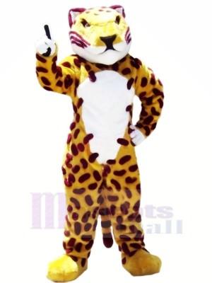 Heftig Braun Jaguar Maskottchen Kostüme