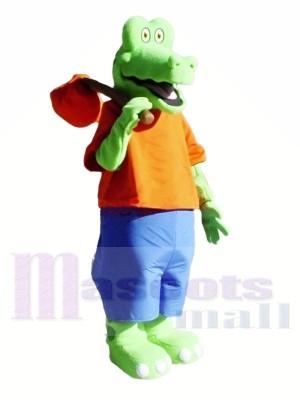Süß Leicht Alligator Maskottchen Kostüme