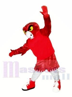Stark rot Eule Maskottchen Kostüme Tier