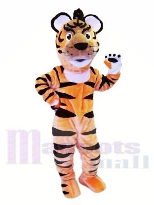 Glückliche leichte Tier Tiger Maskottchen Kostüme
