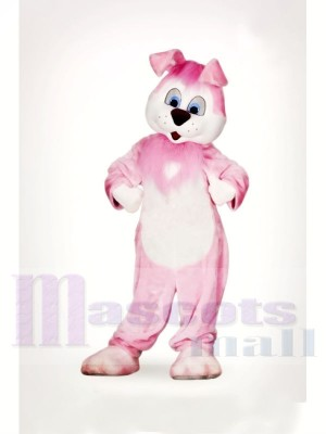 Süß Rosa Hase Maskottchen Kostüme Tier