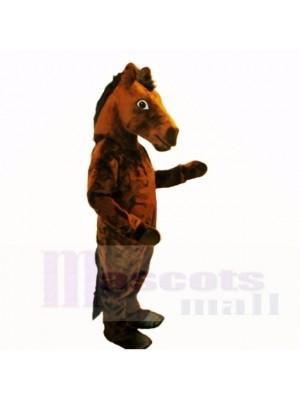 Top-Qualität Brown Mustang Maskottchen Kostüme Erwachsene