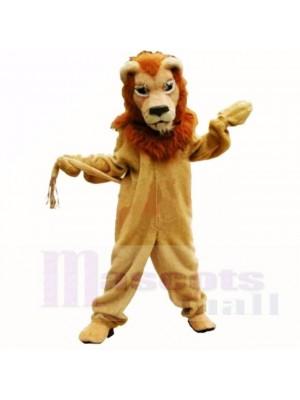 Braun Herrlich Löwe Maskottchen Kostüme Erwachsene