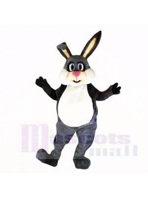 Grau Freundlich Leicht Hase Maskottchen Kostüme Karikatur