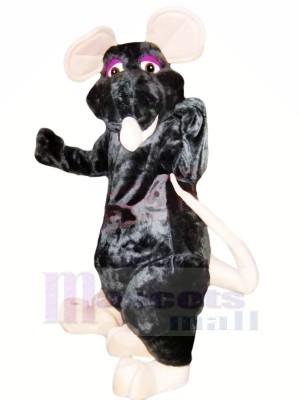 Freundlich Schwarz Ratte Maskottchen Kostüme Billig