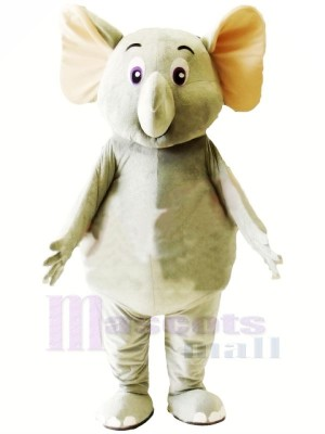 Wenig Süß Grau Elefant Maskottchen Kostüme Karikatur