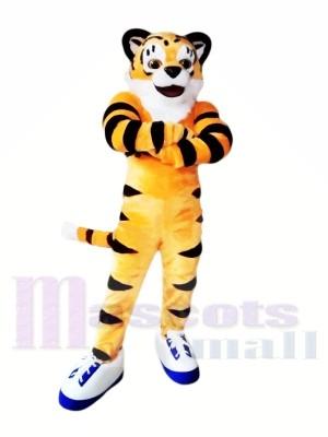 Schöner leichter Tiger Maskottchen Kostüme