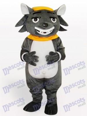 Großer großer Wolf Tier Maskottchen Kostüm
