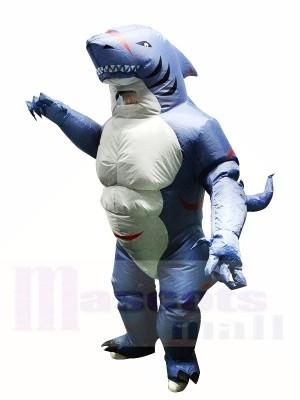 Muskulös Monsterhai Aufblasbares Kostüm