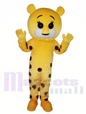Beschmutzter Tiger Maskottchen Kostüm Für Erwachsene