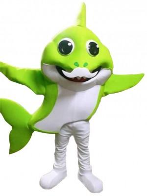 PinkFong Grün Opa Baby Hai Maskottchen Kostüme Meer Ozean Karikatur