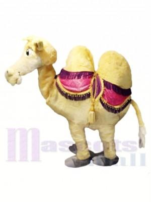 Braun Zwei Person Kamel Maskottchen Kostüm