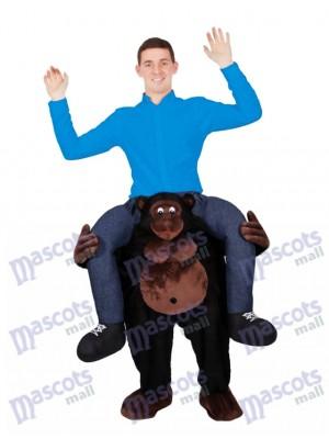 Reiten auf der Schulter Gorilla Carry Me auf Maskottchen Kostüme Piggy Back Ride Outfit chipmunks kostüm huckepack kostüm selber machen