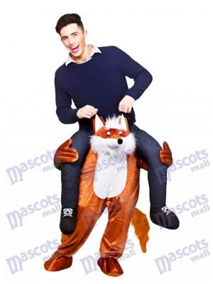 Carry Me Fantastische Fox Piggy Back Maskottchen Kostüme,chipmunks kostüm  huckepack kostüm selber machen