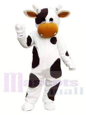 Süß Schwarz und Weiß Kuh Maskottchen Kostüme Tier