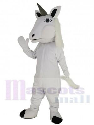 Weißes Einhorn Pferd Maskottchen Kostüm Tier