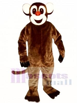 Affe Scheinen Maskottchen Kostüm