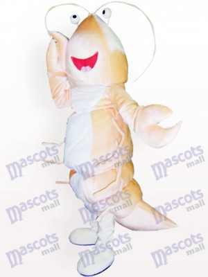 Garnelen Cartoon Maskottchen Kostüm für Erwachsene