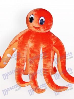 Tintenfisch Cartoon Erwachsenen Maskottchen Kostüm