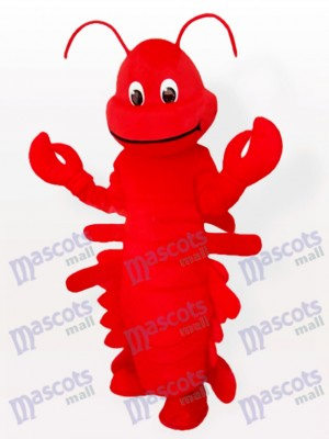 Rotes Karikatur Hummer Ozean erwachsenes Maskottchen lustiges Kostüm