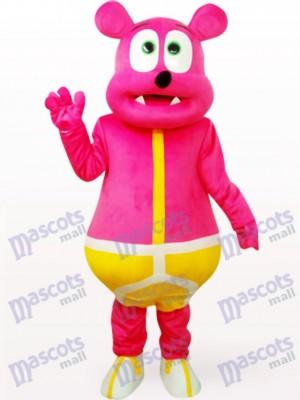 Rosenbär Monster Party Weihnachten Maskottchen Kostüm