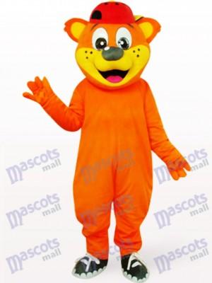 Schöne gelbe männliche Pipi Bär Tier Maskottchen Kostüm