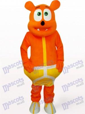 Orangen bär Monster Tier Maskottchen Kostüm