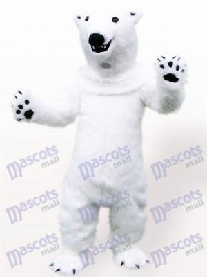 Eisbär Tier Maskottchen Kostüm