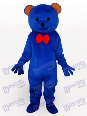 Blaues Teddy bär Tier Maskottchen Kostüm