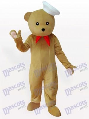 Bär Chef Tier Maskottchen Kostüm
