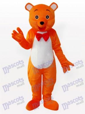 Das Hey Orange Bär Tier Maskottchen Kostüm