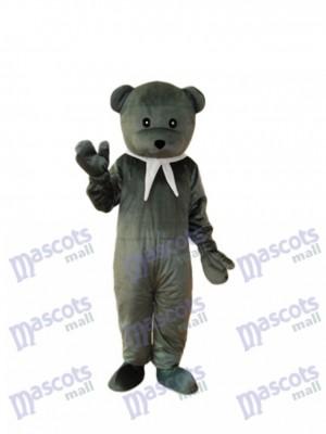 Grey Cook Bär Maskottchen Erwachsene Kostüm Tier