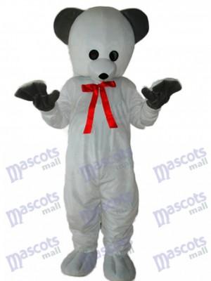 Polar White Bear Maskottchen Kostüm für Erwachsene
