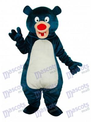 blau Bär Maskottchen Erwachsene Kostüm Tier