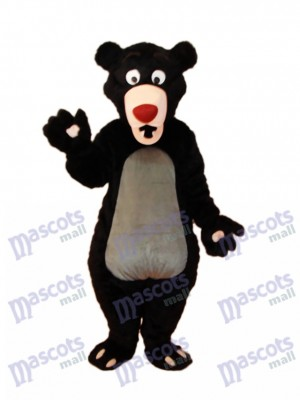 Schwarzbär Maskottchen Erwachsene Kostüm Tier