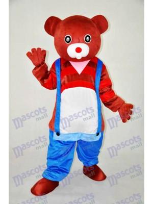 Braunbär Teddybär Maskottchen Erwachsene Kostüm Tier
