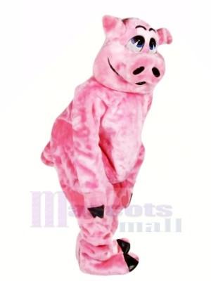 Wunderschönen Rosa Schwein Maskottchen Kostüme Tier