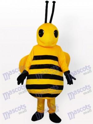 Kleines gelbes Bienen-Insekt-erwachsenes Maskottchen-Kostüm